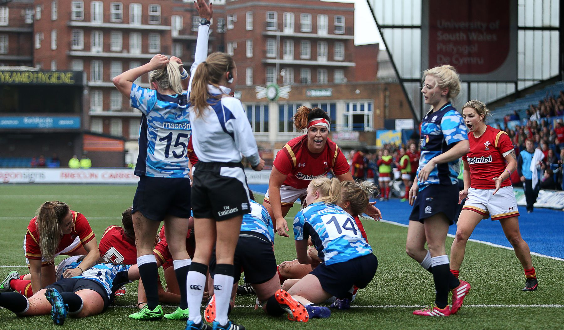 Winning start for Wales Women in Cardiff