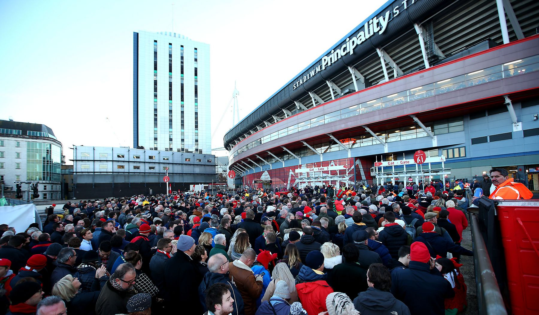 Stadium chief urges fans 'to get in early'