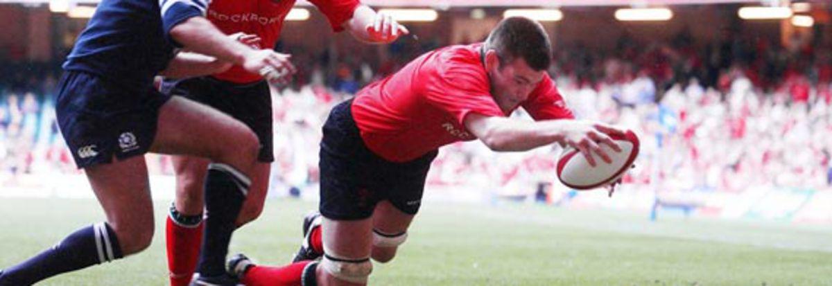 Wales 23 Scotland 9