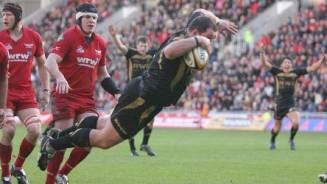 Derby delight for try hero James