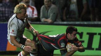 Dragons down high flying Ulster