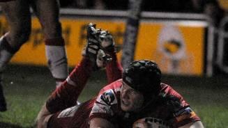 Scarlets deliver knockout blow