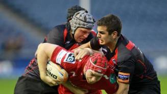 Scarlets edged out at Murrayfield