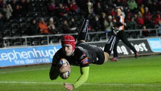 Ospreys cruise to derby victory