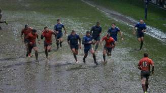 REPORT: Dragons suffer in the rain