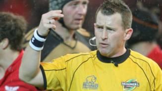 Referee honoured