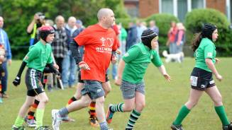 Burry Port Festival of rugby