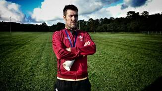 Rhod Gilbert the rugby coach