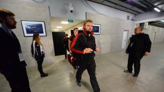 Tunnel Cam: NZ v Wales (3rd Test)