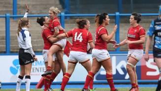 Match highlights: Wales Women v Scotland Women