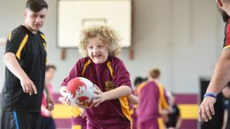 Disability rugby kicks off in Swansea