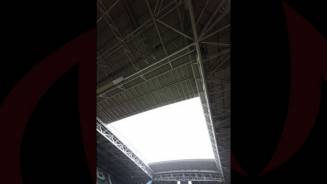 Stadium Facets: The Roof, The Pitch & The Scarf