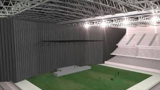 Multiple Configurations: The Arena Partition Drape System