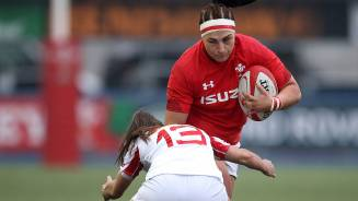 Prop star Amy salutes Wales
