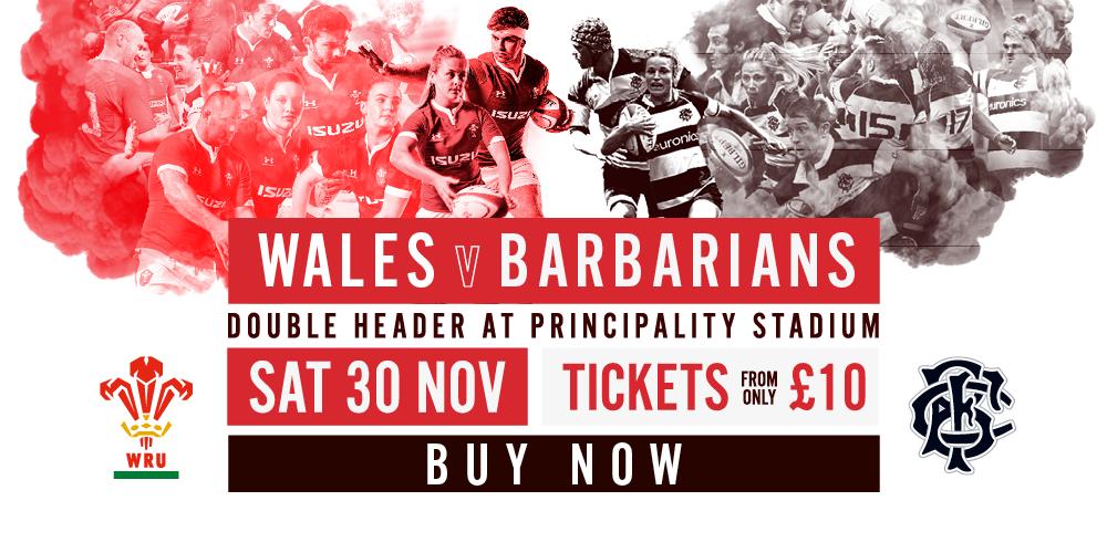 Wales v Barbarians