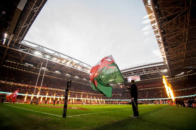 The Six Nations in full swing at Principality Stadium.