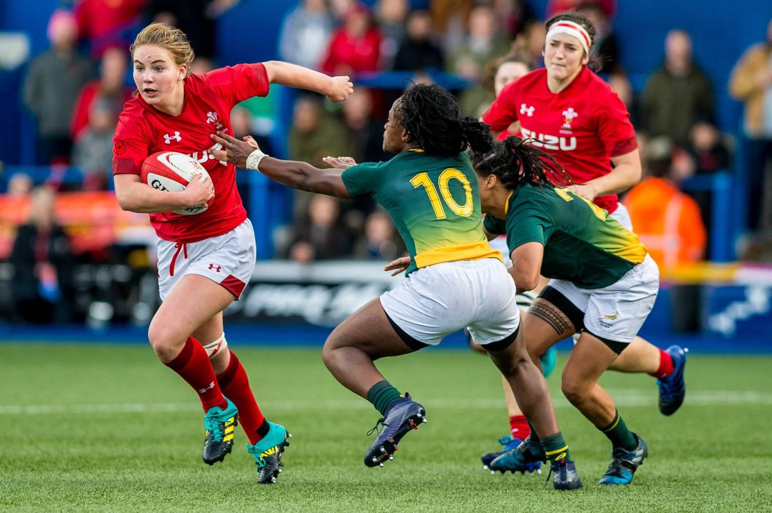 Amanda Redman Richards Things welsh rugby union | wales & regions | new female talent