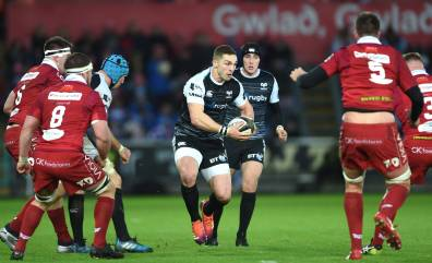 Ospreys to host Scarlets in European play-off