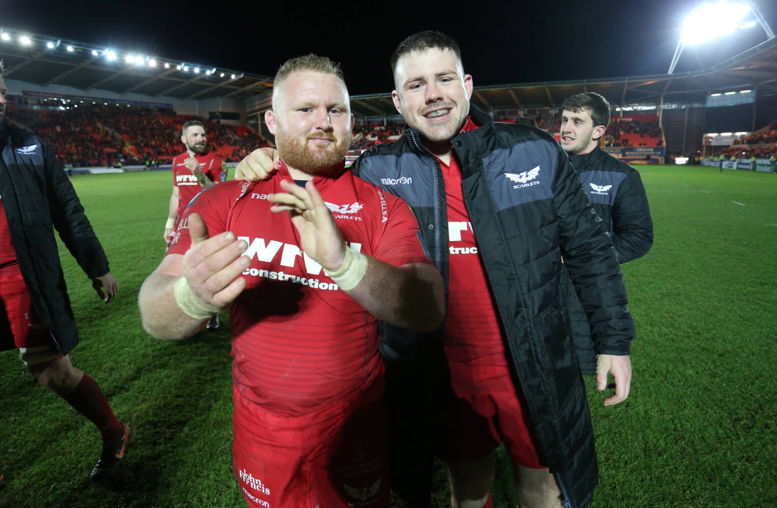 Welsh trio back in action for Scarlets