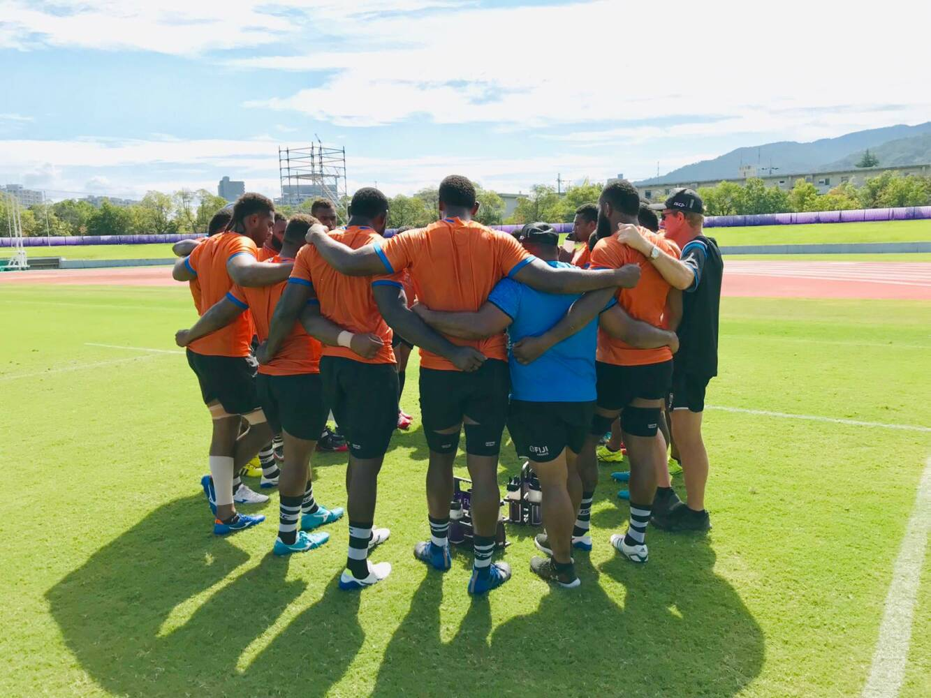 Fiji training for 'final' against Wales