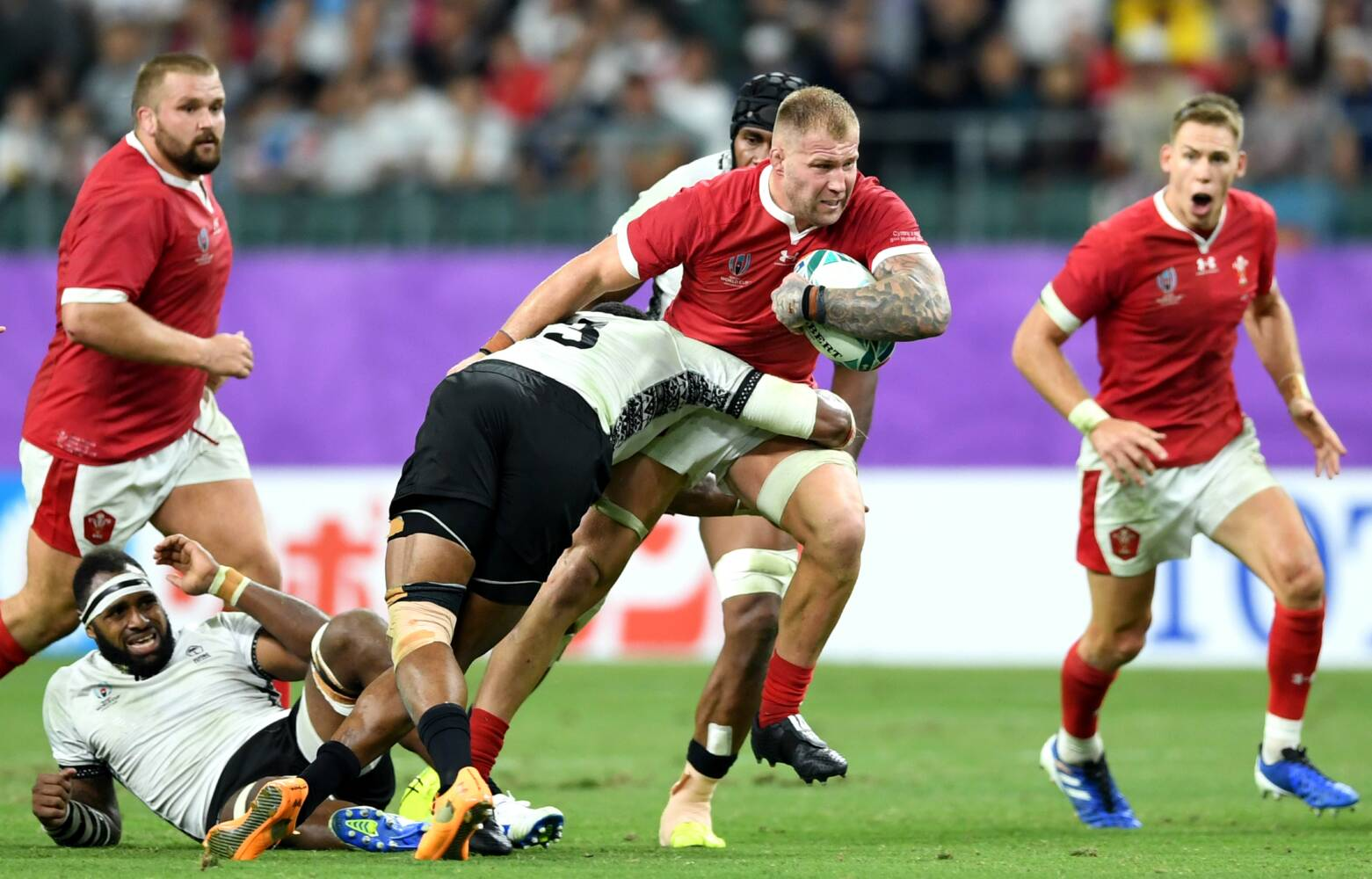 Forwards praise Welsh resilience in Oita