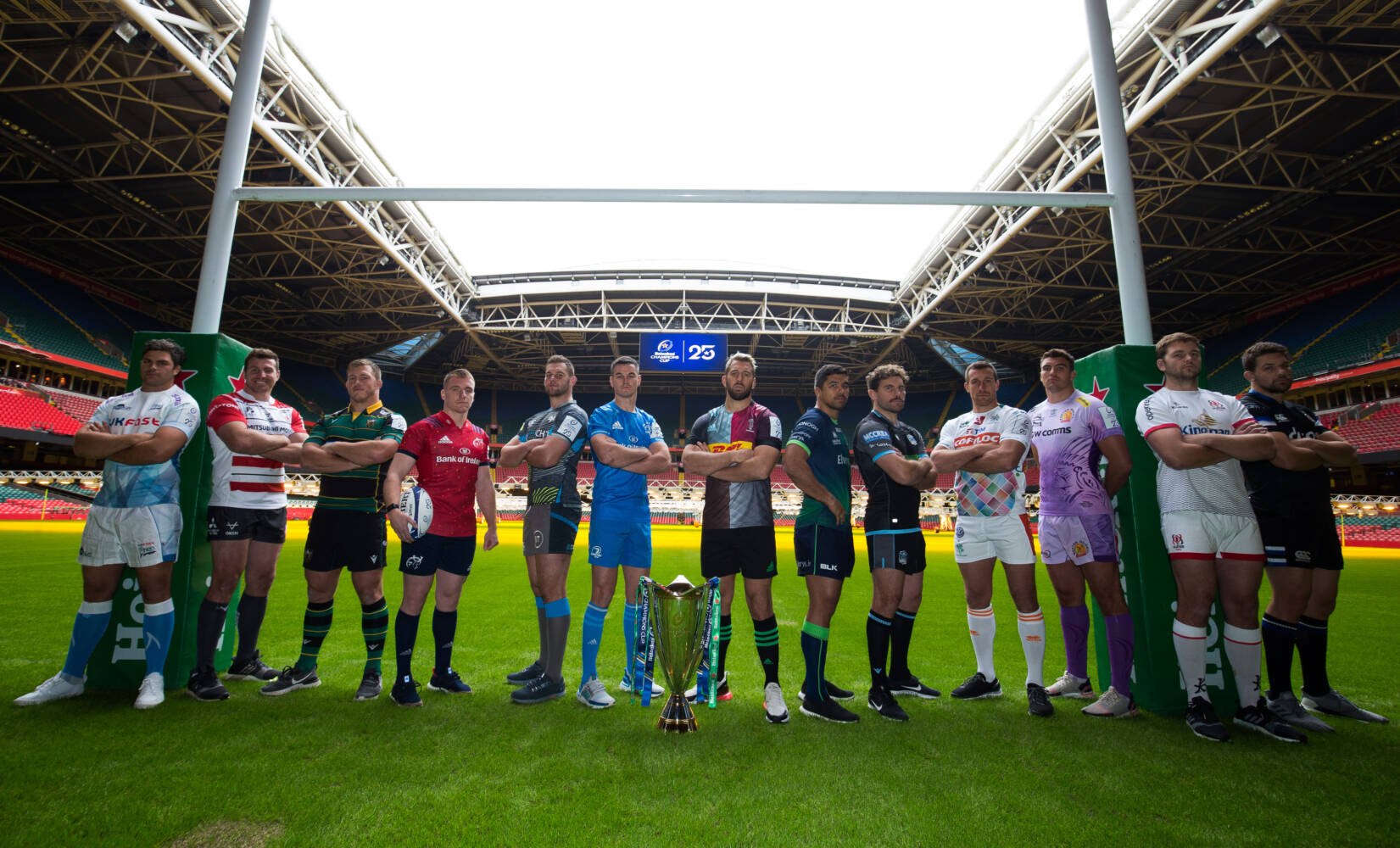 25th anniversary of European club rugby launched in Cardiff