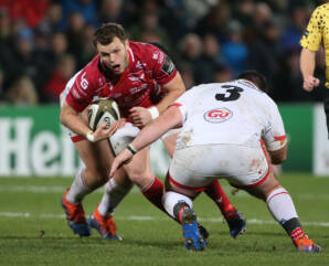 Scarlets outmuscled by Ulster