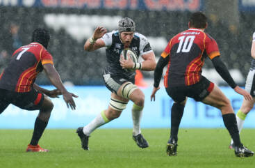Lydiate returns to captain Ospreys at Gnoll