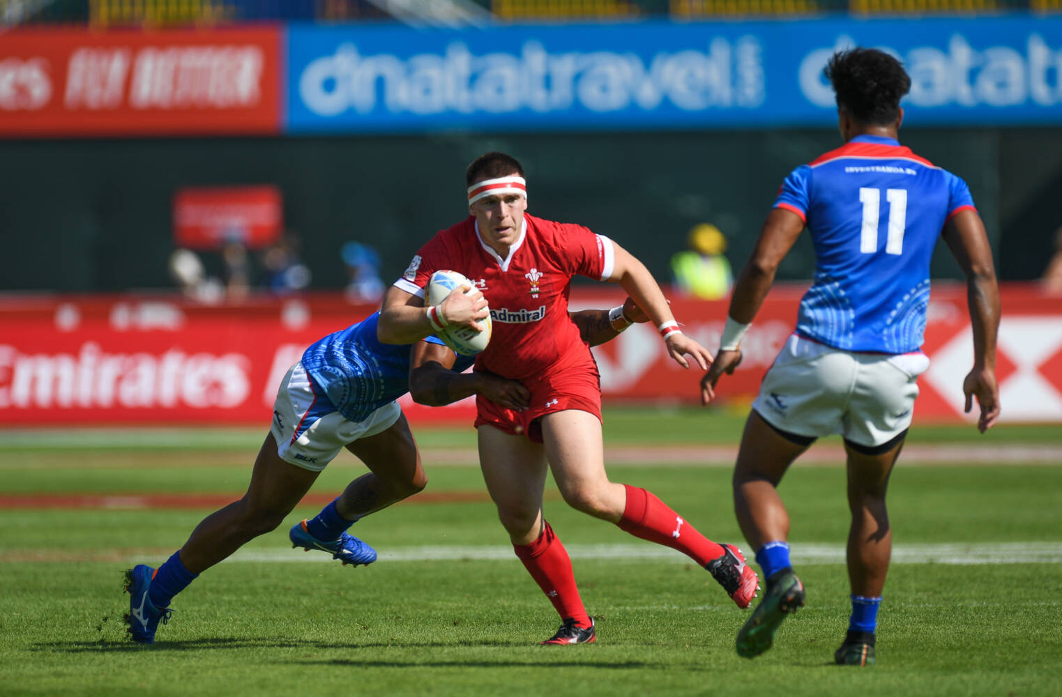Wales see out Dubai on a positive note