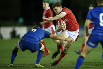 Wales Under 20 beaten by Italy