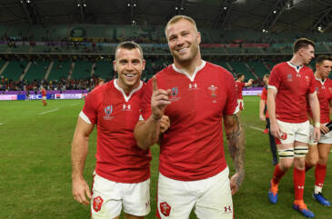 Davies and Moriarty in to face France
