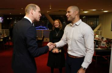 Prince William and Richard Parks