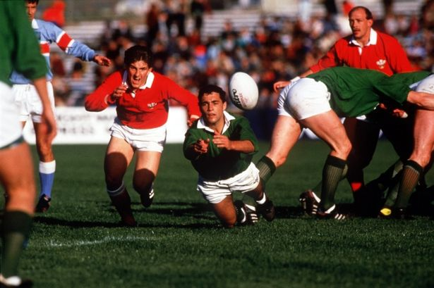 WALES V IRELAND 1987