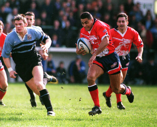 Gill longing for green, green grass of Arms Park