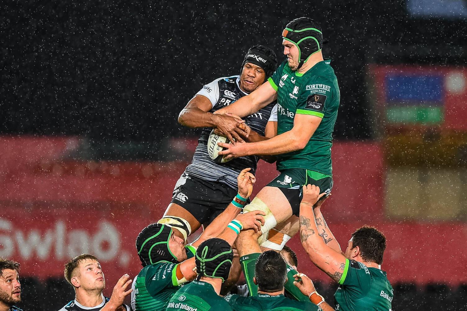 Dragons sign Welsh-qualified lock Maksymiw