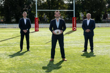 Vodafone partners British & Irish Lions
