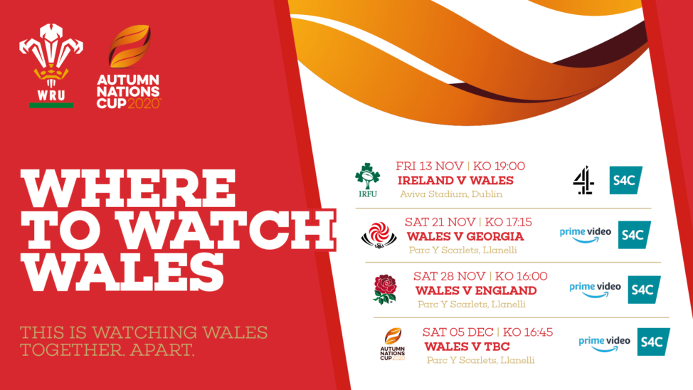 Where to watch? – Autumn Nations Cup 2020