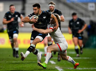 Ospreys beaten in Belfast
