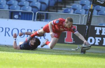 Scarlets claim first victory at Murrayfield for eight years