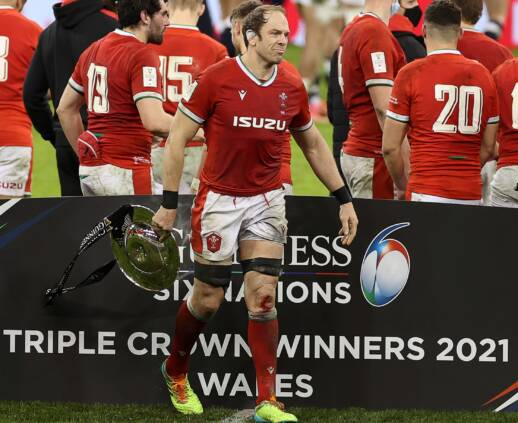 Trophy time again for Wales thanks to record score over England