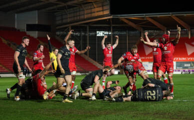 Scarlets come from behind to secure Champions Cup qualification