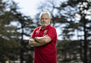 Three Welshmen on Gatland's Lions coaching team