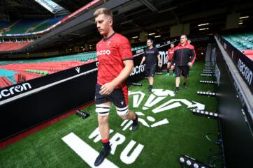 New faces in the Wales squad