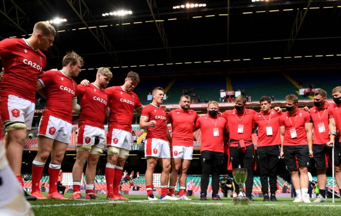 Wales v Canada and the Glyn Berry Memorial Trophy