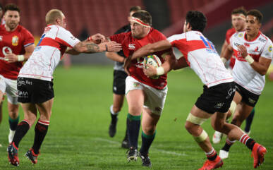 Jones ready for first Lions Test