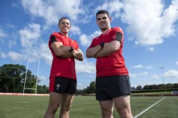 Craig Evans and Adam Jones