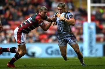 Peel happy with Scarlets win at Leicester
