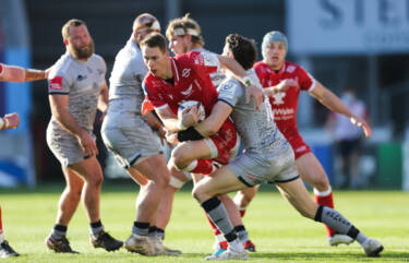 Williams out of Scarlets games after appendix operation