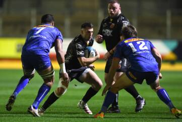 Dragons outmuscled by Stormers
