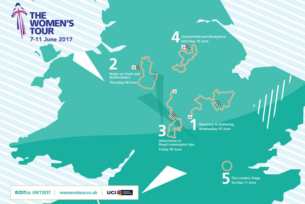 Women's Tour Route 2017